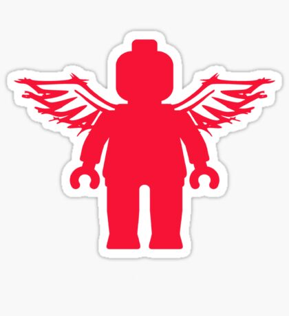 ANGEL MINIFIG  Sticker