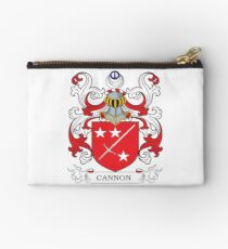 Cannon Coat of Arms Studio Pouch