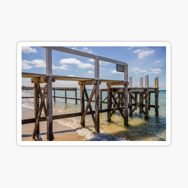 Shelley Beach, Portsea, Mornington Peninsula, Victoria, Australia. Sticker