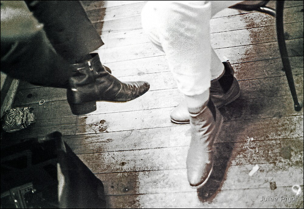 boots backstage by Juilee  Pryor