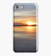 Arran Reflecting Sunset 1 iPhone Case/Skin