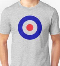 Bullseye target design with added color Unisex T-Shirt