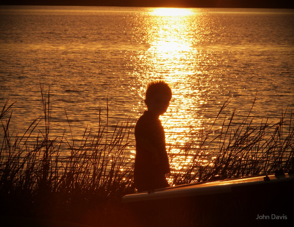 PROFILE OF A CURIOUS CHILD by John Davis
