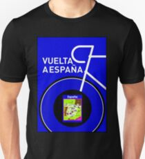 VUELTA A ESPANA: Spanish Bike Racing Print Unisex T-Shirt