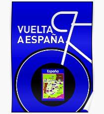VUELTA A ESPANA: Spanish Bike Racing Print Poster