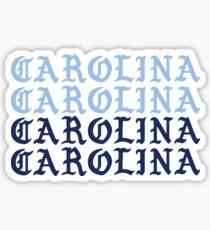 carolina carolina carolina carolina unc Sticker