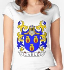Carle Coat of Arms Women's Fitted Scoop T-Shirt