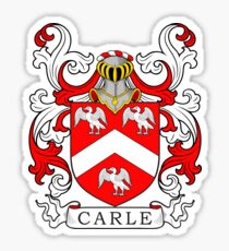 Carle Coat of Arms Sticker