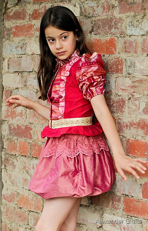 Girl in Red by Alexander Gitlits