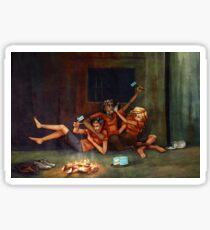 Percy Jackson - Blue Food Sticker