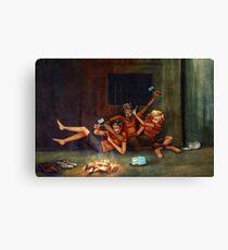 Percy Jackson - Blue Food Canvas Print