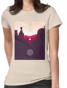 Westworld 1 Womens Fitted T-Shirt