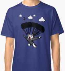 Skydiving Ferret (Updated) Classic T-Shirt