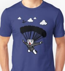 Skydiving Ferret (Updated) Unisex T-Shirt