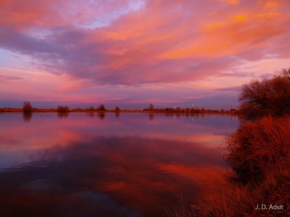 Paint me a Sunset by J. D. Adsit