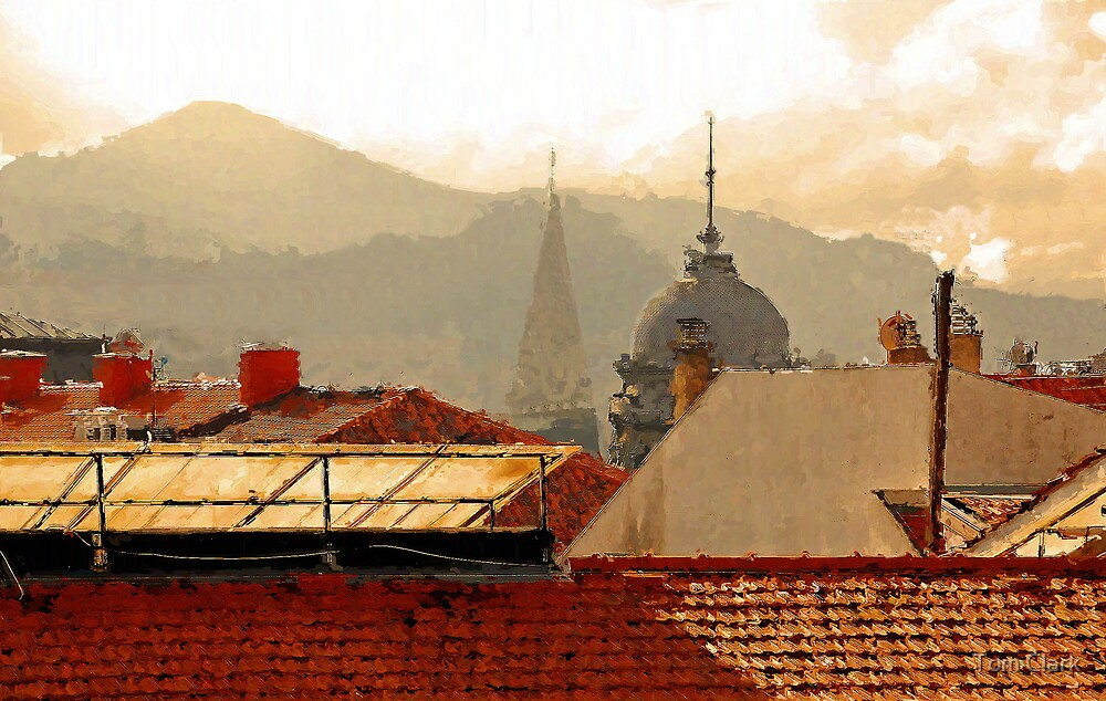 Rooftops by Tom Clark