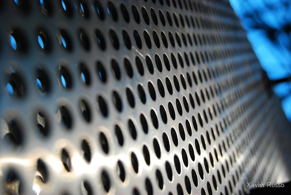 Metal lattice by Xavier Russo