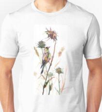 Goldfinch in Dry Field Unisex T-Shirt