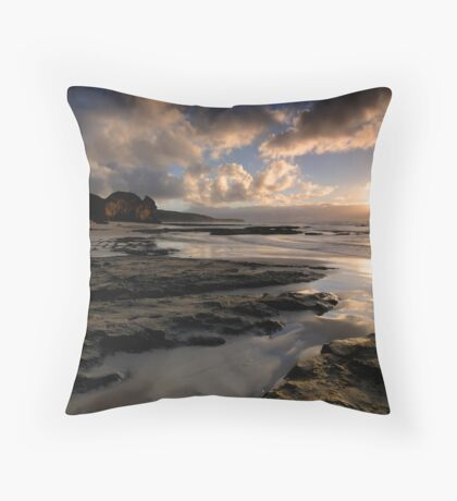 Point Addis Sunrise Throw Pillow