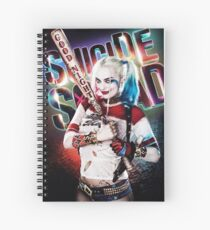 Harley Quinn Spiral Notebook