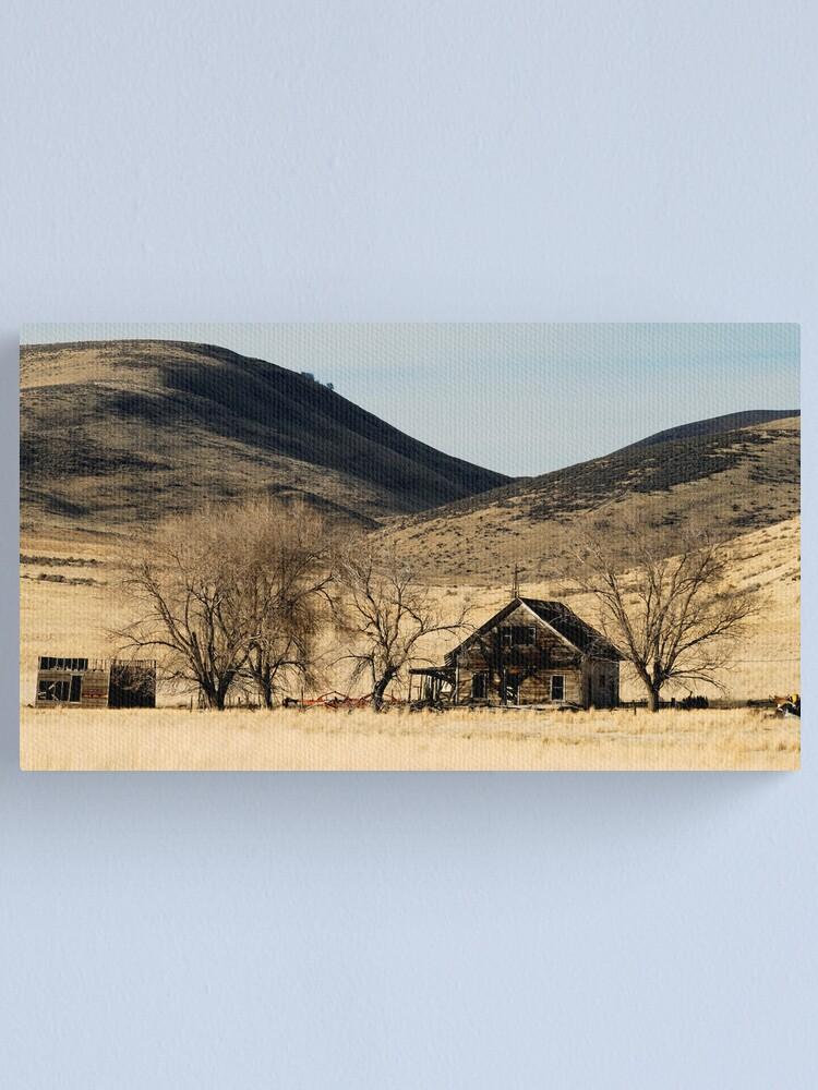 Alternate view of Ghost Farm Canvas Print