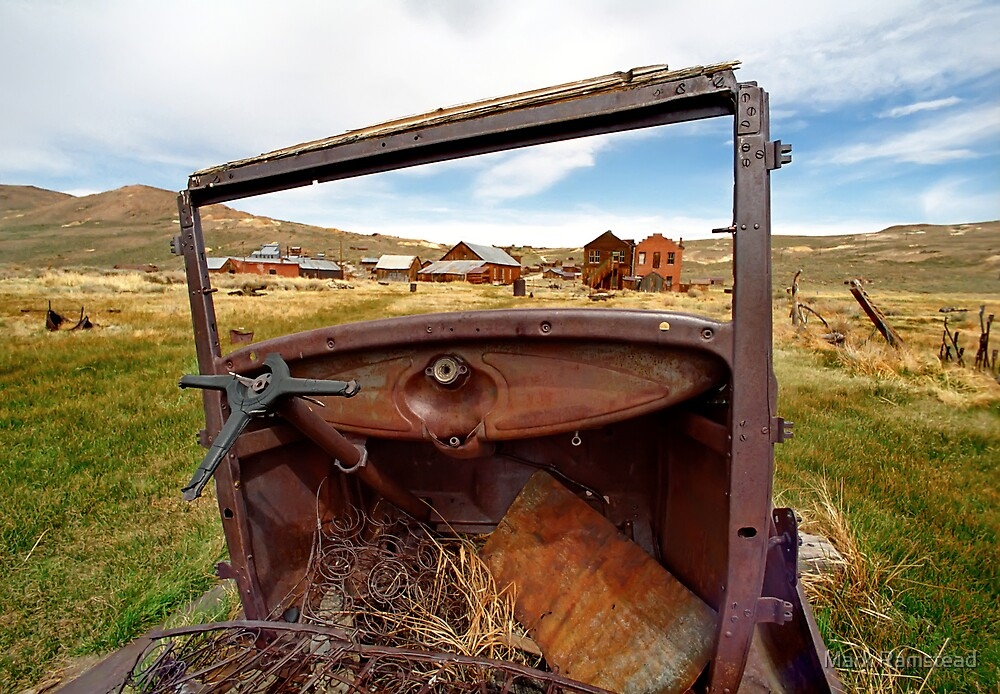 Bodie Drive In by Mark Ramstead