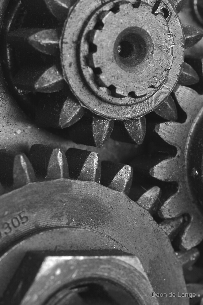 Gears by Deon de Lange