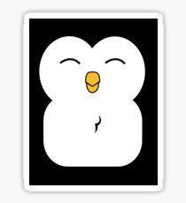 penguin face Sticker
