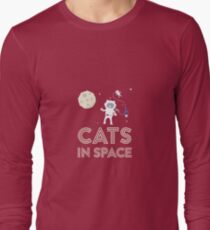Cats in Space Rtfb7 Long Sleeve T-Shirt