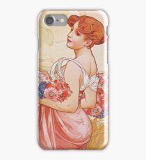 Alphonse Mucha - Summer 2 iPhone Case/Skin