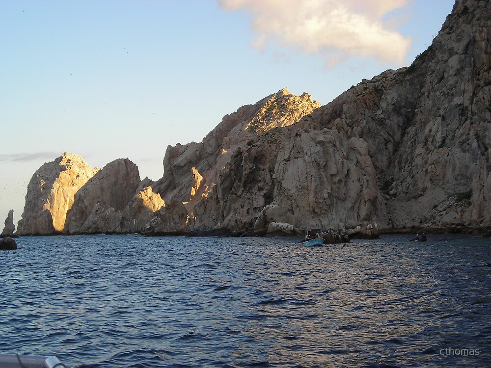 Lands  end in Cabo San Lucas, Baja, Mexico by cthomas