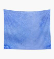 Azure watercolor Wall Tapestry