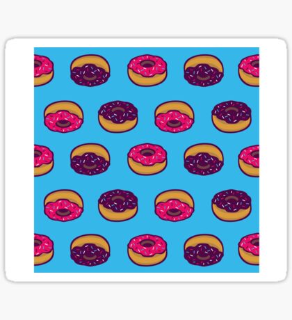 Donuts All Over Sticker