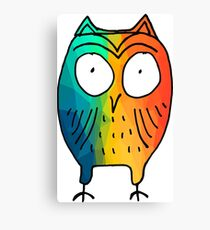 Crappy Owl Canvas Print