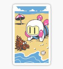 Panic Bomber W - Beach 1 Sticker