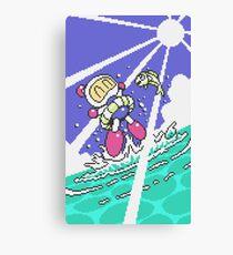 Panic Bomber W - Beach 2 ☼☁ Canvas Print