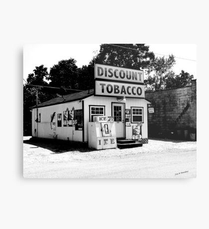 Discount Tobacco Baxter Tennessee  Metal Print