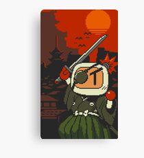 Panic Bomber W - Samurai  ☼⚔ Canvas Print
