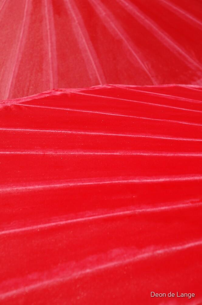 Parasols 2 by Deon de Lange