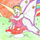 Fairie in sunshine by Caroline Munday