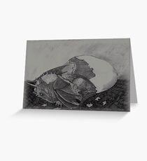 Birth of a dragon Greeting Card