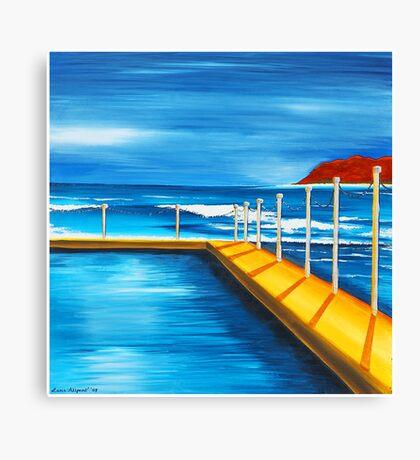 Mona Vale Pool Canvas Print