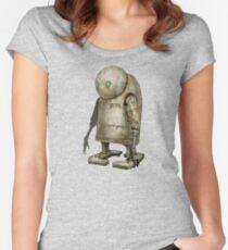 NieR: Cutest Robot Women's Fitted Scoop T-Shirt