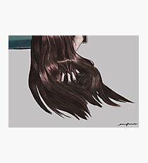 X Hair Photographic Print