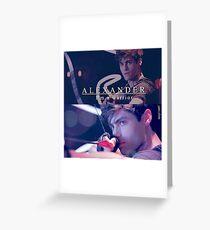 Alec Lightwood - warrior  Greeting Card