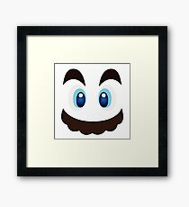 Who is he? #03 Framed Print