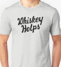 Whiskey Helps Unisex T-Shirt