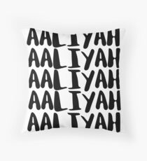 AALIYAH Throw Pillow