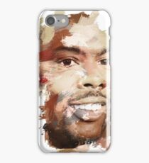 Paint-Stroked Portrait of Actor and Comedian, Chris Rock iPhone Case/Skin