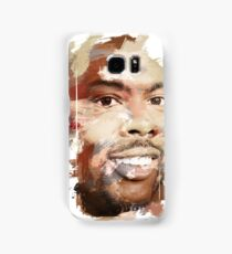 Paint-Stroked Portrait of Actor and Comedian, Chris Rock Samsung Galaxy Case/Skin